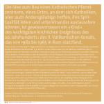 """Eröffnungsbroschüre """"glauben"""", Kath. Kirchgemeinde Wil"""