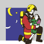 Illustration Feuerwehrauto