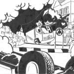 Illustration für Inserat