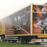 Lastwagenbeschriftung