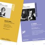 Konzertzyklus Wattwil, diverse Jahre