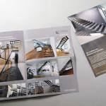 Langegg Treppenbau, Falt-Mailing, 2teilig