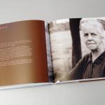 165 Begegnungen mit und von Robert Sallmann, Buchgestaltung