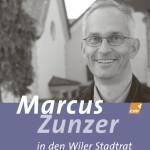 Wahlkampagne Stadtrat, Plakat Quer