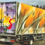 Beschriftung Lastwagen
