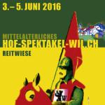Hofspektakel: Plakat 2016