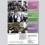 Konzertzyklus Wattwil, Programm Seite 1
