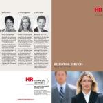 HR Kompetenzzentrum: Broschüre «Recruiting Services», März 2019