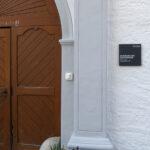 Signaletik «Kloster Magdenau»: eine von 30 Beschriftungstafeln an und in den Gebäuden