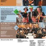 Konzertzyklus Wattwil: Einladungsflyer 2019 (Vorderseite)