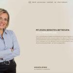 Spirig Privatpflege: Homepage Titelseite 2