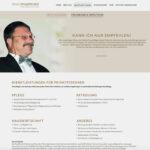 Spirig Privatpflege: Homepage Neukonzeption/Text Privatkunden