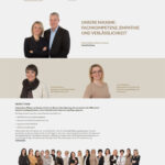 Spirig Privatpflege: Homepage Teamseite