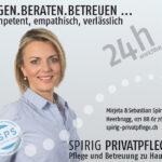 Spirig Privatpflege: Imageinserat